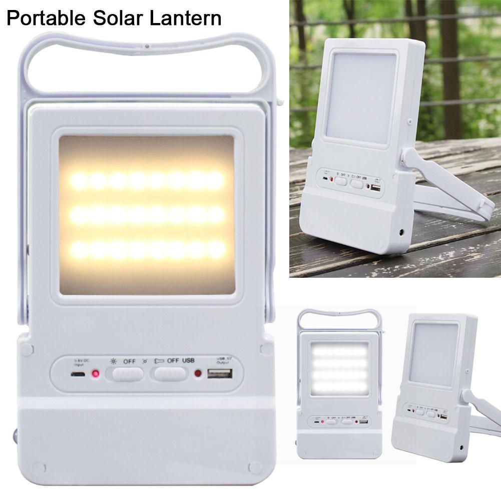 Licht & Beleuchtung Tragbare Led Solar Lampe Usb Aufladbare Notfall Laterne Outdoor-camping-zelt Angeln Licht Kann Ladegerät Handy Außenbeleuchtung