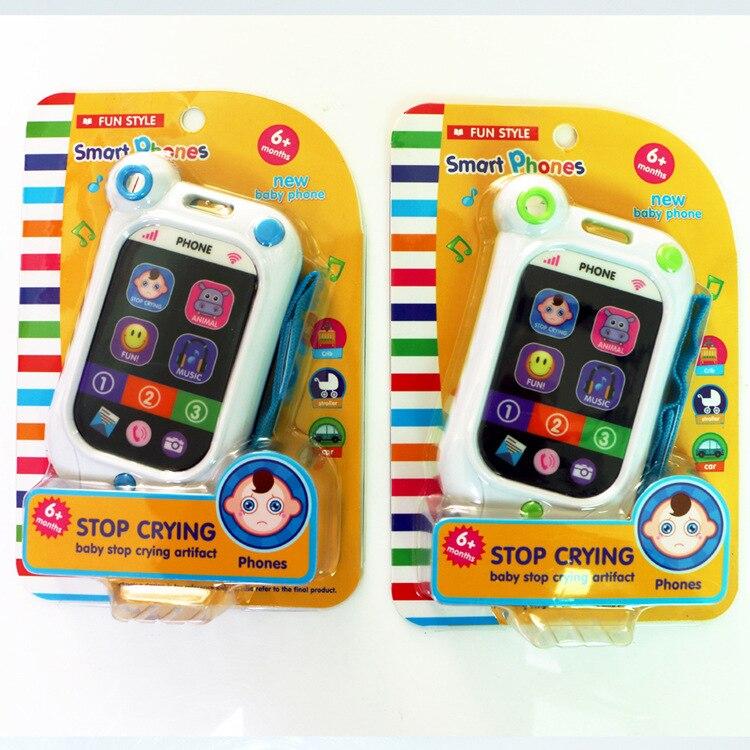 068a12bd77ab17 Infant speelgoed mobiele telefoon baby onderwijs speelgoed artefact  simulatie smartphone baby bed bel in Infant speelgoed mobiele telefoon baby  onderwijs ...