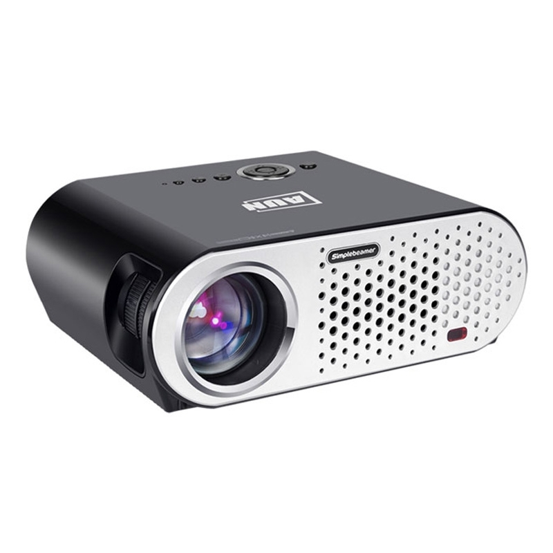 AUN T90 Mini LCD Projector 3200Lm 1280x768 Pixels Video Projector HD 1080P HDMI Home Theater Projectors Proyector Beamer Basic