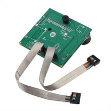 Replacement LCD Display Screen With 2 Connecting Cables For Creality CR-10S 3D Printer Supports For RAMPS 1.4 Control Bard