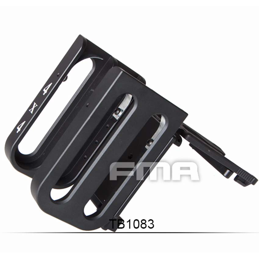 FMA 4x4 S-SHELL HOLDER Shotshell Ammunition carrier magazine clip for Tactical Paintball Hunting TB1083 Free Shipping