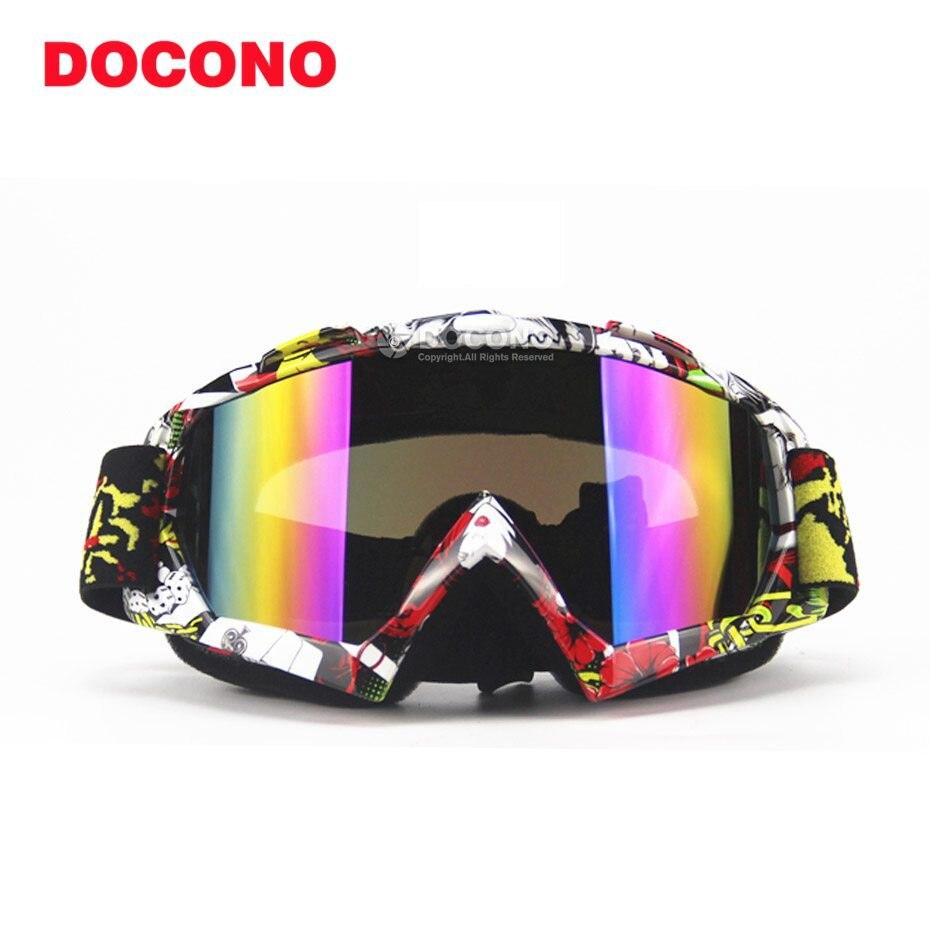 Professional moto Mens Skiing Goggles Polarized Dual Layer Lens Anti-Fog Climbing Motorcycle Women Snowboard Goggles Glasses