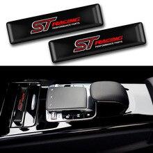 10 stücke Auto styling ST Logo Schutz bar Aufkleber Styling Auto Emblem Abzeichen Auto Außen Aufkleber Aufkleber für Ford Focus ST Mondeo