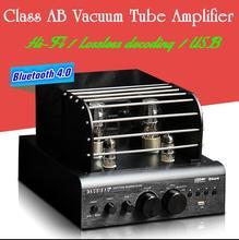 Music Hall Bluetooth 4.0 Valve Vacuum Tube Amplifier Stereo Power Integrated Audio HiFi Amp Support USB