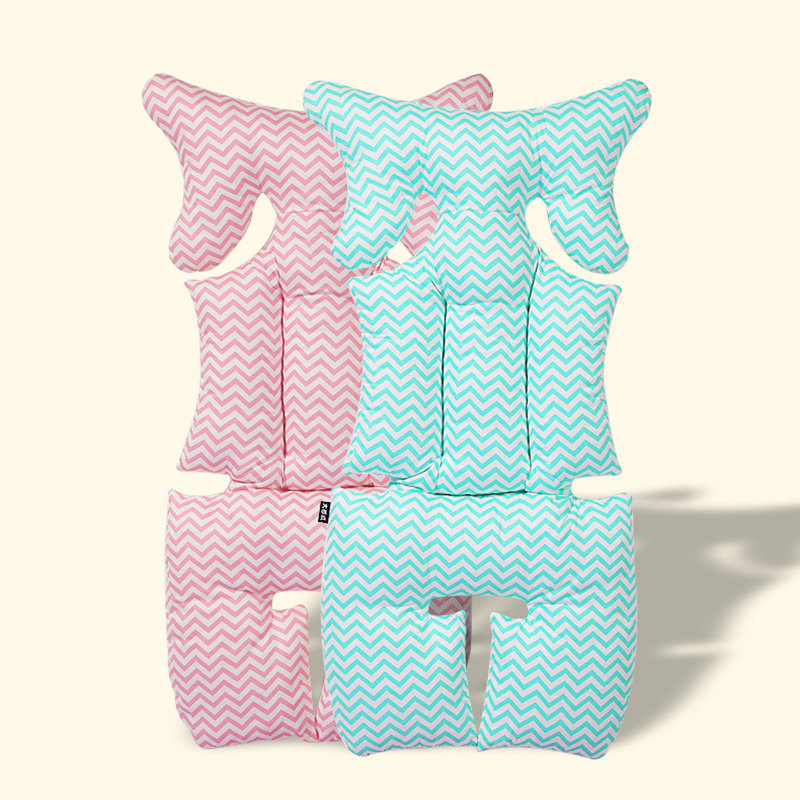 Baby Dining Chair & Stroller Cushion Baby Safety Car Seat Mat Blue Pink Thicken Pram Pad for Stroller Accessories Cradle Cushion