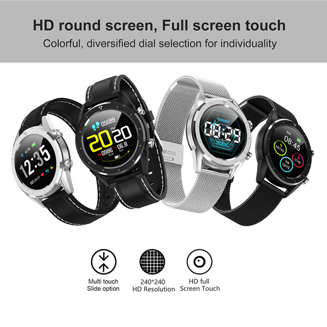 DT28 Men Smart Watch IP68 Waterproof ECG Heart Rate blood pressure Monitor Fitness Tracker Smartwatch Sport Smart Bracelet 1