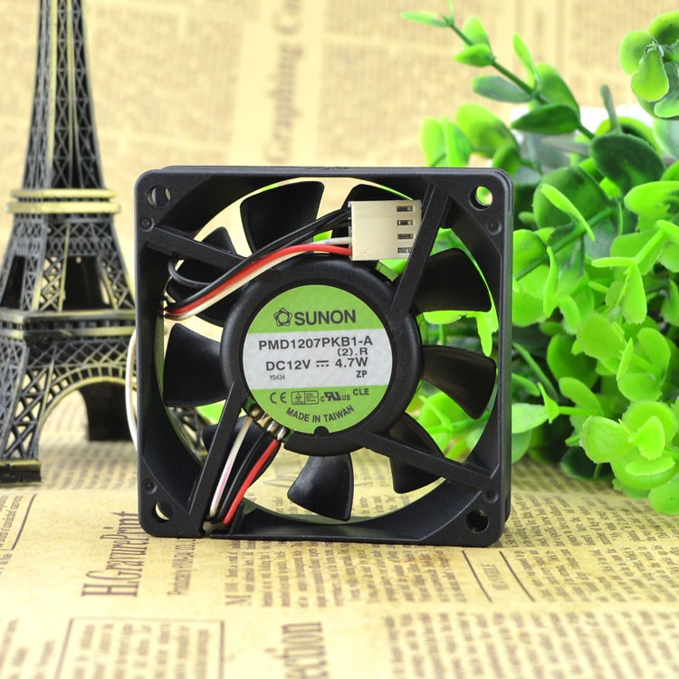 Taiwan original quasi built SUNON PMD1207PKB1-A 7020 12V 4.7W power supply fan Free Shipping
