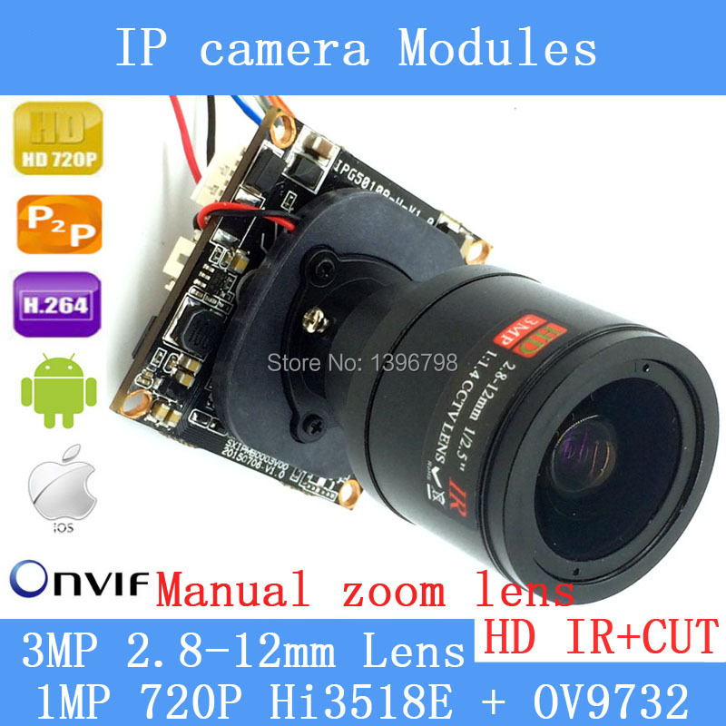 PU`Aimetis 720P Network 1.0MP mini IP Camera Board ONVIF 2.8-12mm manual Varifocal Zoom Lens P2P Plug and Play with IR-CUT hot sale audio mini ip camera 720p onvif 2 0 2 8 12mm manual varifocal zoom lens p2p plug and play with bracket security camera