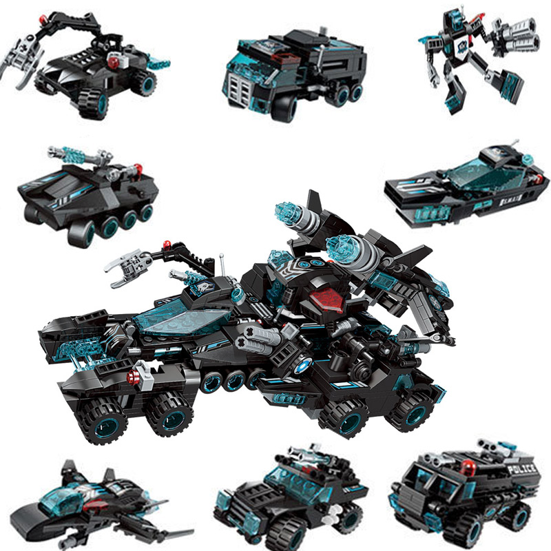 8in1 Building Block High Tech the Legoed of Chariot Shadow Pulse Combat Vehicle Educational Technic Bricks figures Toy kids Gift