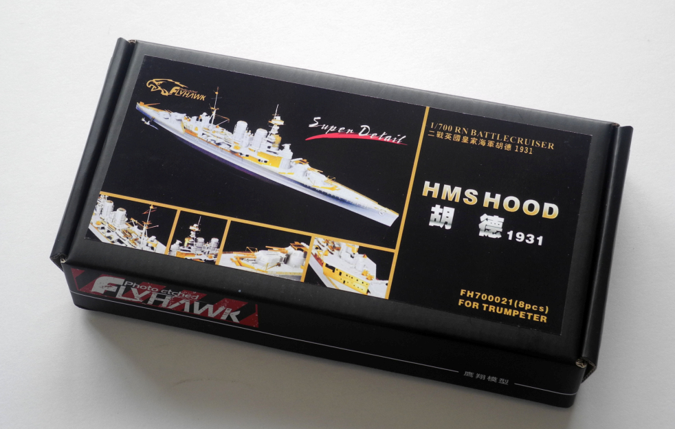 1/700 HMS Hood said in 1931 05741 Assembly model Warship