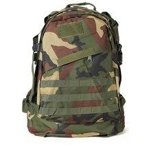 Nueva Venta 40L Al Aire Libre Táctico Militar Mochila de Excursión Que Acampa Trekking Bag-camuflaje Selva