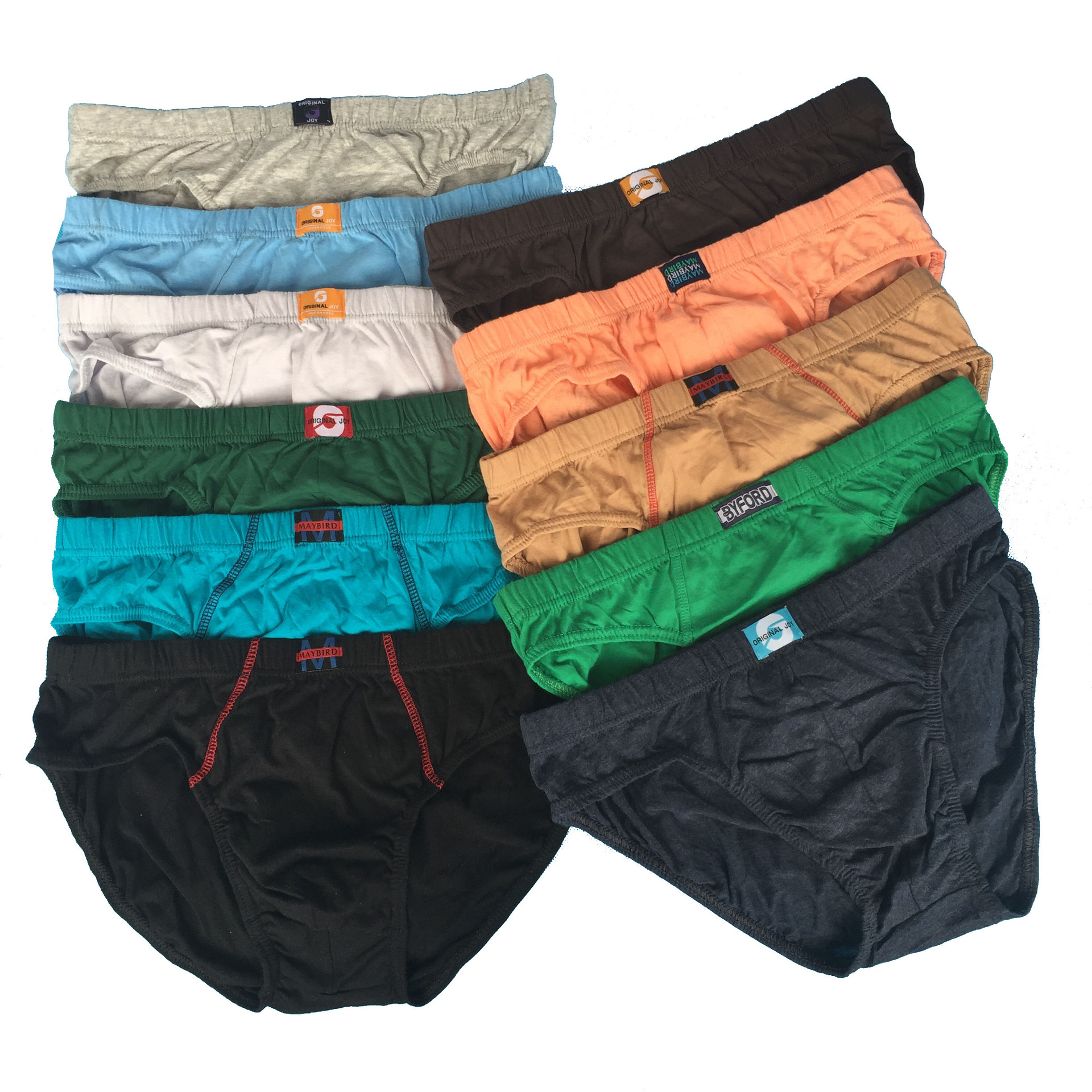 3pcs/Lot Man Gentlemen Sexy Solid Panties Pants Briefs Shorts Underpants Underwear Cotton Briefs CGNK-JJ001