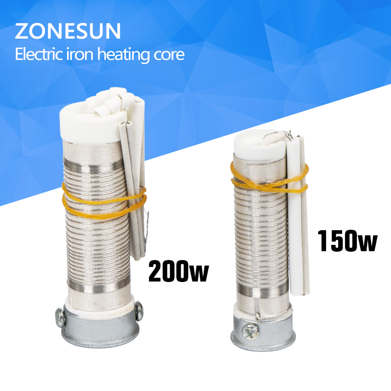 ZONESUN Heating Welding Soldering Iron Solder Core 220V 150W or 200W High-Frequency .stamping machine core
