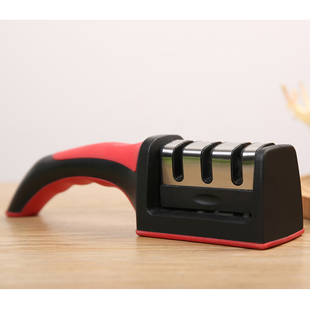 Quick Professional Knife Sharpener Non-Slip Silicone Base
