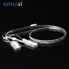 Smuxi 2PCS 60CM 23 RGB LED Strip Light 3528 SMD USB Battery Power Colorful Changing LED Strip Shoes Light