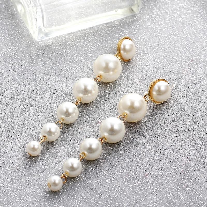pearl ear clips