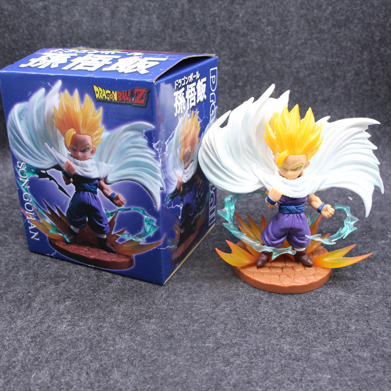 Anime Dragon Ball Z Son GoHan Statue Action Figure Dolls Model Toys