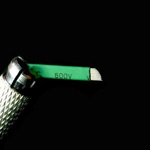 Image 2 - 0.16mm Xanh Lá Nano LAMINA MICRO 12 FLEX CHANFRADA Microblading Kim Cho Tebori Microblading Permannet Hướng Dẫn Sử Dụng Bút