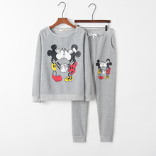 2018 Mickey Women's Tracksuit For Women 2pieces Set Suit Kaw