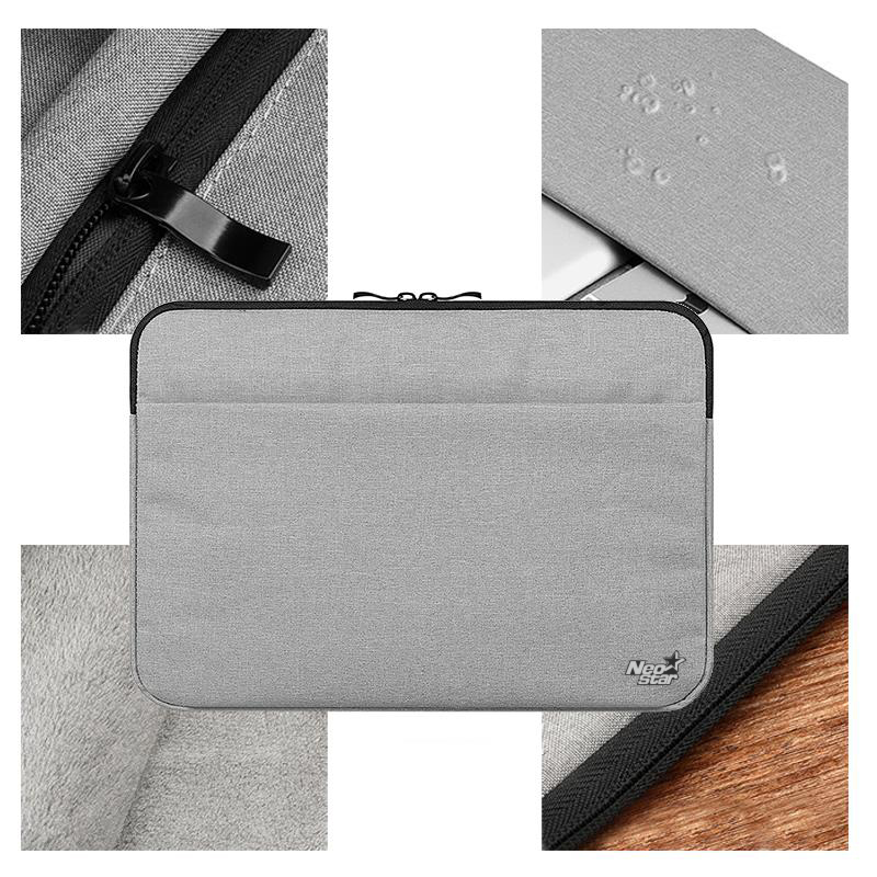 Canvas Sleeve Laptop Bag For Macbook Air 11 12 13 15 Inch Zipper Case - Նոթբուքի պարագաներ - Լուսանկար 5