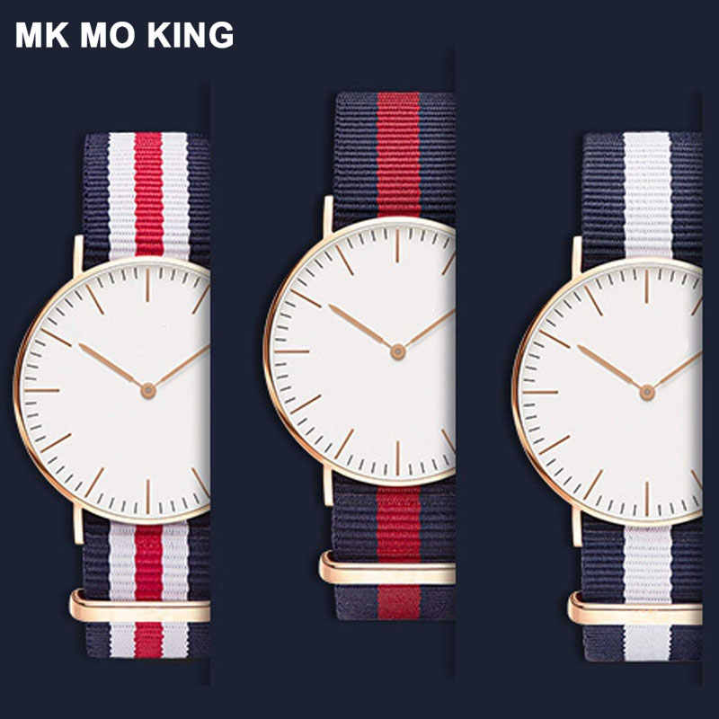 luxury nylon 14mm 16mm 18mm 20mm men women ladies strap for 28mm 32mm 36mm 40mm DW Daniel Wellington wrist watch band bracelet