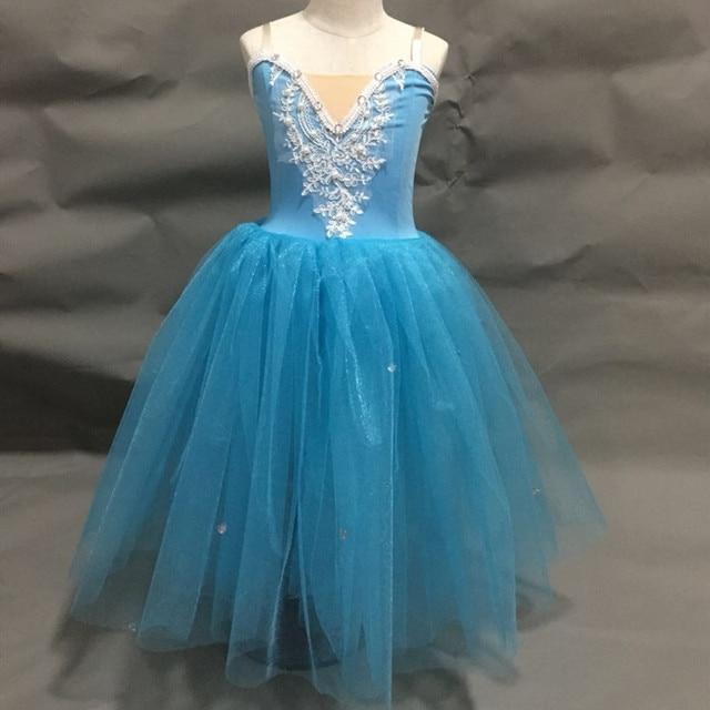 バレリーナドレスのために大人女性バレエドレスモダンダンス衣装バレエの衣装大人の女の子女性