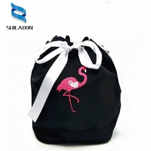 Hot Sell Women Casual Nylon String Beach Flamingo Bag Ladies Mini Small Cute Cartoon Anime Boho Bucket Shoulder Bags Bolas