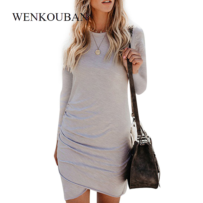 Summer Dress 2020 Women Sexy Mini Dress Long Sleeve Party Vestido Female Bodycon Dress Ladies Beach Clothes Vestidos Mujer