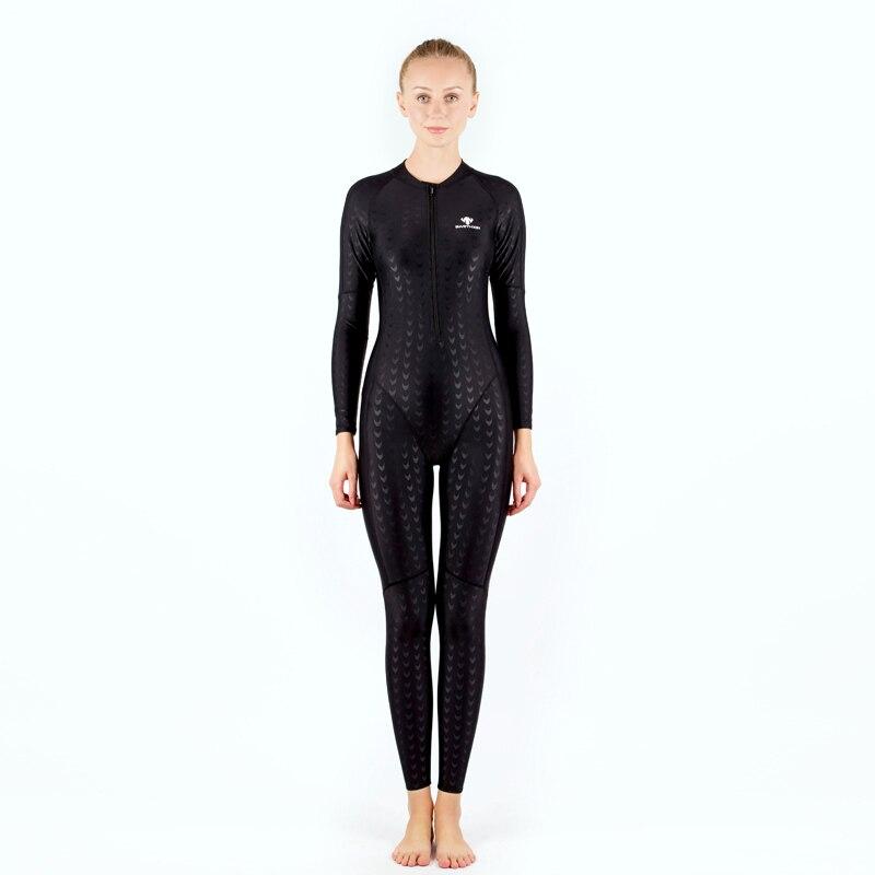 Professionaalne sport täis keha soe ujumisriided naistele Mehed - Spordiriided ja aksessuaarid - Foto 5