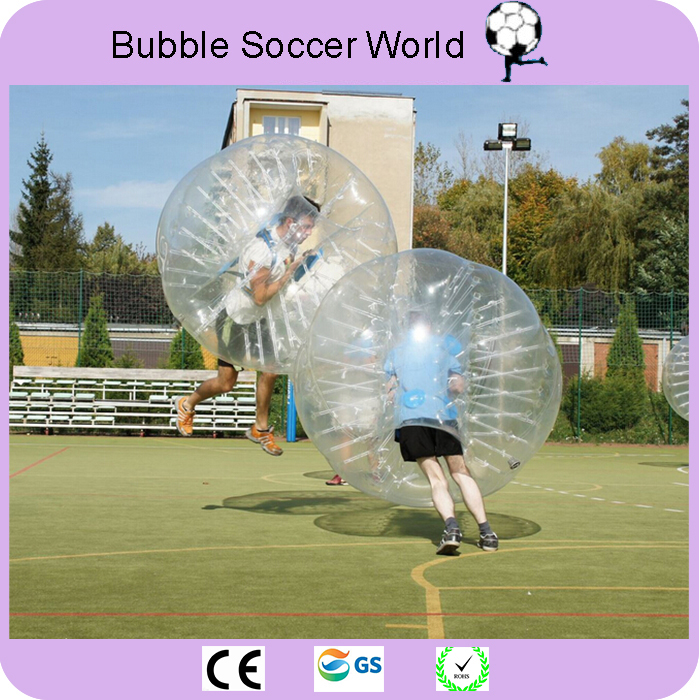 Inflatable Air Bumper Bubble Soccer Ball Dia 5ft(1.5m) Giant Human Hamster Ball for Adults and Kids Free Shipping by Fedex