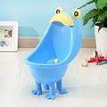 2015 hot selling plastic simple frog baby urinal product