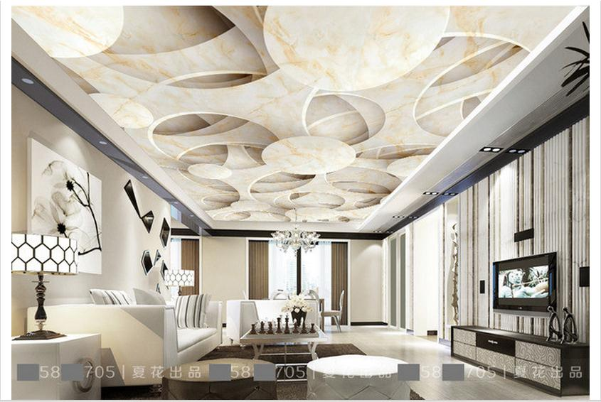 buy customized 3d photo wallpaper 3d ceiling wallpaper murals 3 d stone. Black Bedroom Furniture Sets. Home Design Ideas
