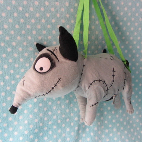 Frankenweenie Sparky Stuffed Plush Doll,Christmas Gift For Kids, Sparky Plush (With Pocket) штроборез sparky fk 3014
