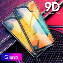 CASPTM 9D Tempered Glass For Samsung Galaxy A10 A30 A50 Screen Protector A20 A40 A60 A70 80 90 Protective Film
