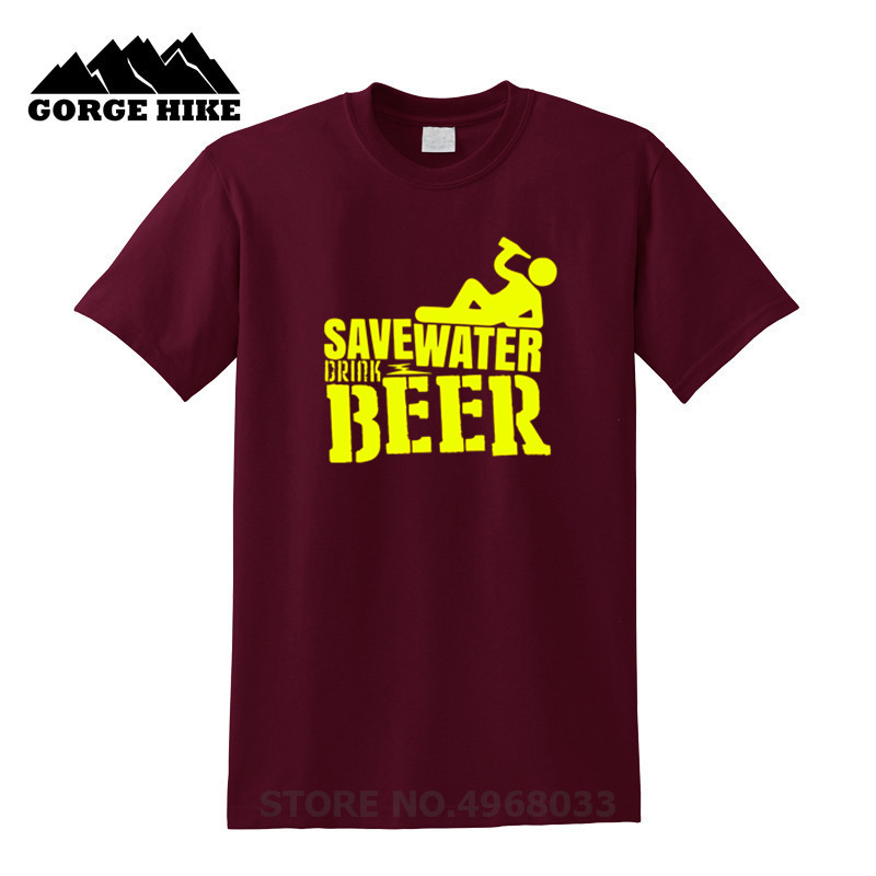Save Water Drink Beer Funny T-Shirt
