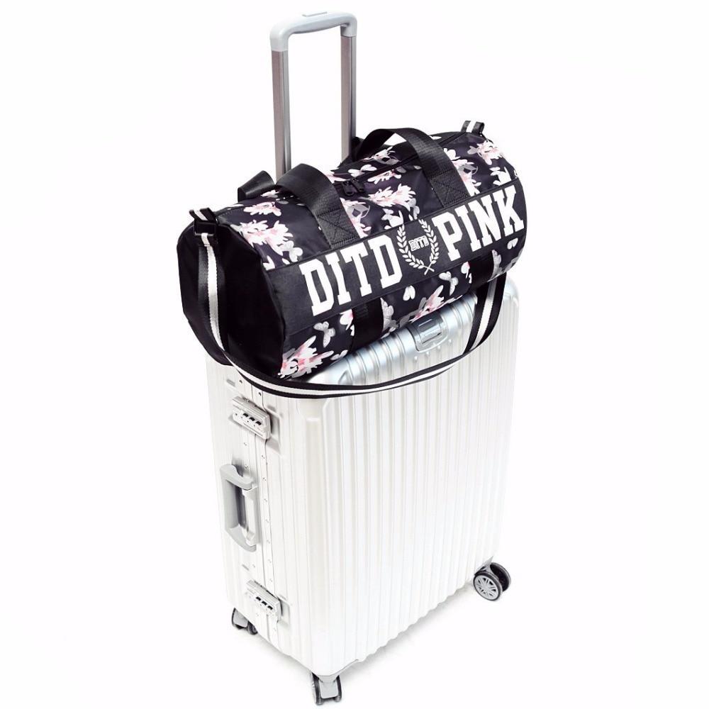 2018 Ladies Fitness Gym Bags shoes pocket Nylon Large Training handbag  Female Yoga Mat sac de sport women duffel bag travel bags-in Gym Bags from  Sports ... c18d1c8ef19da