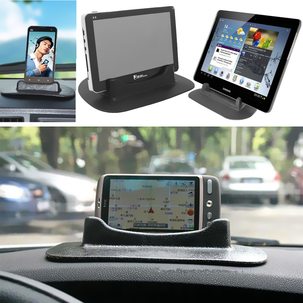 Dashboard Soft Sticky Pad Car Holder Mount Mobile Phone GPS Sat Nav Tablet PC Bracket Stand Auto Car Styling Accessories