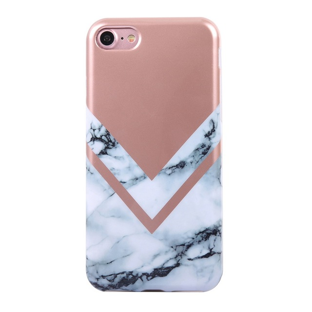info for 4828d 1128a US $7.59 |LANCASE For iPhone 7 Case Electroplating Bronzing Marble Back  Cover For iPhone 7 Cases For iPhone 7 Plus Cases Accessories on  Aliexpress.com ...