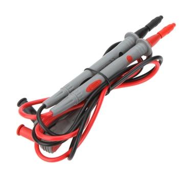 1 Pair UNI-T 10A Digital Multimeter Test Leads Probe Extension Line Pen Cable DMM Sharp Tip Test Probe