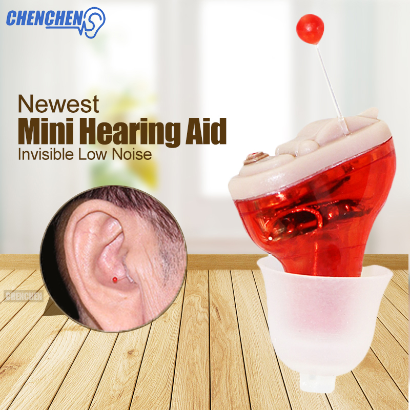 Mini Digital Hearing Aid Small Inner Ear Invisible Best Sound Amplifier Aparelho Auditivo Wireless Hearing Aids Ear Care Tool