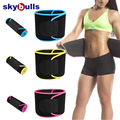 Skybulls waist trimmer belt for women Gym jogging sweat belt Adjustable Beauty Waist Support sauna slimming beltslimming belt