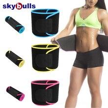 Skybulls Бандаж на пояс для женщин тренажерный зал пояс для пота Регулируемый Красота талии Поддержка сауна, для похудения beltslimming ремень