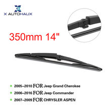 "X Autohaux 350mm 14"" Rear Window Windshield Wiper Blade Covers For Jeep Commander 2006 TO 2016 For Grand Cherokee 2005 TO 2010(China)"