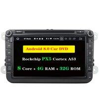 Ectwodvd 4G RAM 32G ROM Octa Core 8,0/8,1 автомобилей DVD gps для VW универсальный 178*100 мм Радио стерео CD играть gps навигации