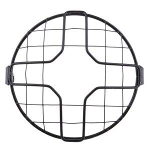 Image 1 - 1 Uds Universal tapa para faro de motocicleta Retro faro Protector de tapa para faro de motocicleta Accesorios