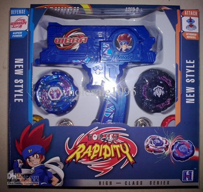 Beyblade metal fusion Beyblade spin top toy Plastic Beyblade ...