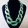 Женская цепочка-чокер Boho  массивное ожерелье с длинной цепочкой  подвески и ожерелья  бижутерия  2016