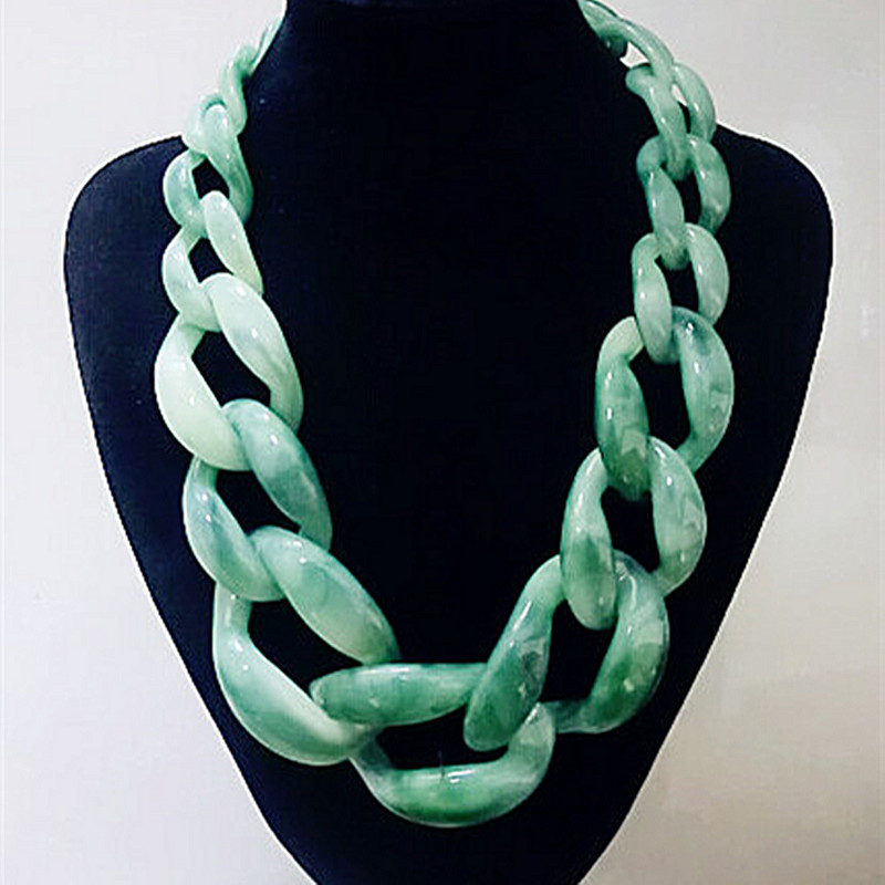 Moda 2016 Gjerëse Zinxhiri Chunky Chain For Women Bohoux Jewel Bijoux Dollar Boho Long Zinxhir