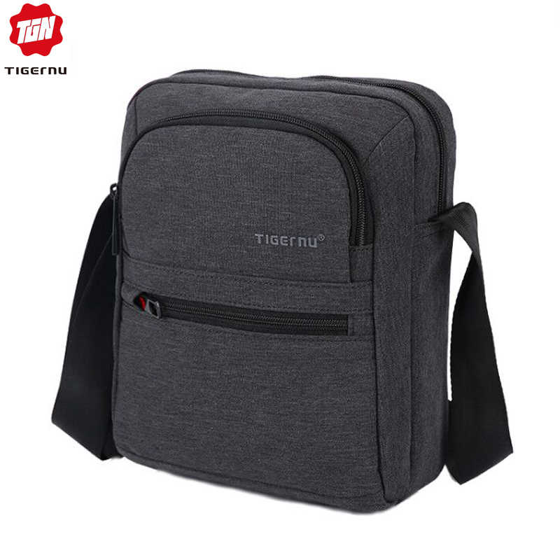Tigernu Brand High Quality Men 's Messenger Bag Mini Business Shoulder Bags  Casual Summer Bag Women Cross body Bag Male Bag Men