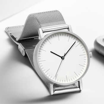 Minimalist Swiss Movement Stock Stainless Steel Mesh Leather Watches Bracelet Quartz Fashion Luxury Brand Dress Watch 36mm - DISCOUNT ITEM  30% OFF All Category